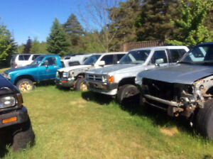Toyota truck - 4 runner parts