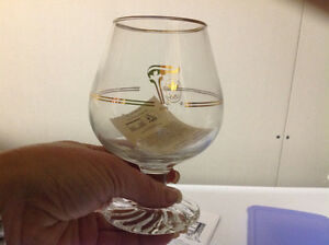 17 - 1988 Olympic Petro Canada brandy glasses