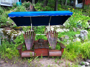 Sturdy Frame and Awning for muskoka chairs