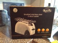 Brand new in box Breville Stainless Steel 2 Slice Toaster