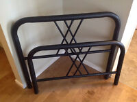 BLACK Headboard & Footboard, Twin (EXCELLENT CONDITION)