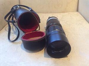 Vintage Soligor Auto Zoom 1:4.5 75-260 mm Camera Lens