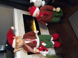 Christmas elves $50 for large $40 for small London Ontario image 2