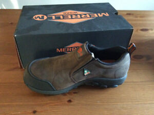 Merrel green patch work shoes