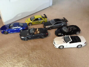 1/18 diecast cars German and jdm