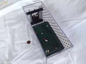 Dollhouse Miniature Pool Table Kitchener / Waterloo Kitchener Area image 3