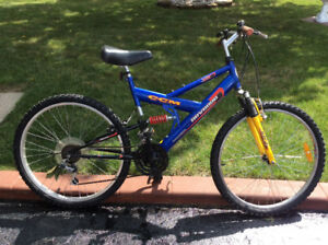 Man's CCM 18 speed mountain bike