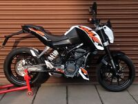 KTM Duke 125 ABS Only 2869 miles. Nationwide Delivery Available *Credit & Debit Cards Accepted*