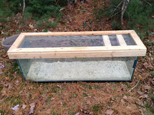 Tank for reptiles snakes lizards frogs etc 4 foot long L@@K