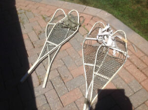 Snowshoes two pairs