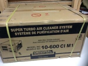 "GÉNÉRAL INTERNATIONAL Système purification d'air ""Super Turbo"""