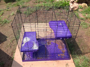 """metal large size cage for small size animal - 17.5"""" x 28 x 27""""H"""