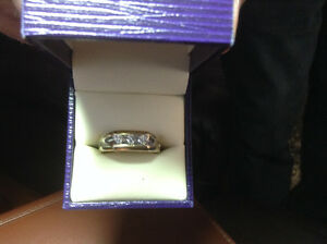 3 Diamond Mens Ring