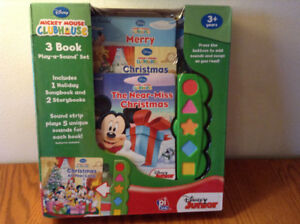 Mickey Mouse Set of 3 Song and Story Books – BRAND NEW