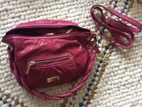 Lady's smart pink handbag made by Suzy smith 'London'