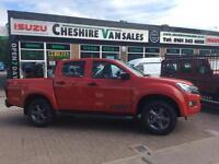 66 REG ISUZU D-MAX FURY NEW LIMITED SPECIAL EDITION BRAND NEW ~ AUTO ~ LEATHER