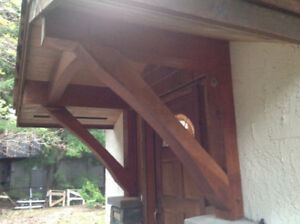 entryway roof support