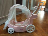 Zapf Creation Baby Annabell dolls carriage/cot