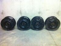 set of Subaru steel rims