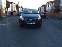 2013 Vauxhall Corsa 1.2 SXI 5dr hatchback petrol manual black colour low mileage full history £3295