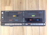 Technics Twin Cassette Player/Recorder