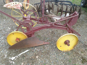 Horse Drawn Sulky Plough from ADHS