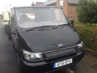 Ford transit with a full years m.o.t