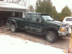1999 Ford F-250 lariat Pickup Truck $7200 with 7.3 turbo Kawartha Lakes Peterborough Area image 2