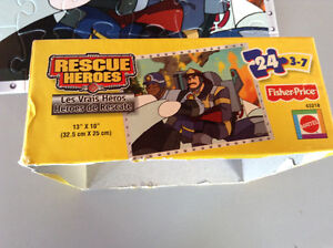 CASSE TÊTE FISHER PRICE 2002 RESCUE HEROES 24 MORCEAUX 3-7 ANS Gatineau Ottawa / Gatineau Area image 5