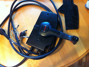 mercury remote control manette gaz