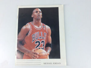 Young Michael Jordan Lined Paper Notebook