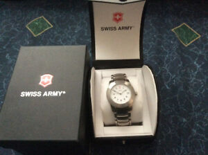 Swiss Army watch.