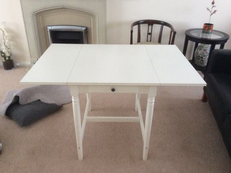 Ikea Ingatorp Drop Leaf Table In Dunbar East Lothian