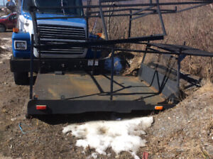 8' custom fabricated steel beb for 2006,1 ton ford truck ,sides