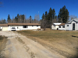 Well kept bungalow and 10acres in Gypsumville