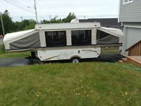 12 foot coachman clipper tent trailer