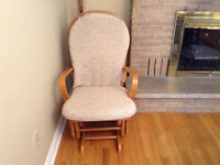 REDUCED PRICE Glider Rocker