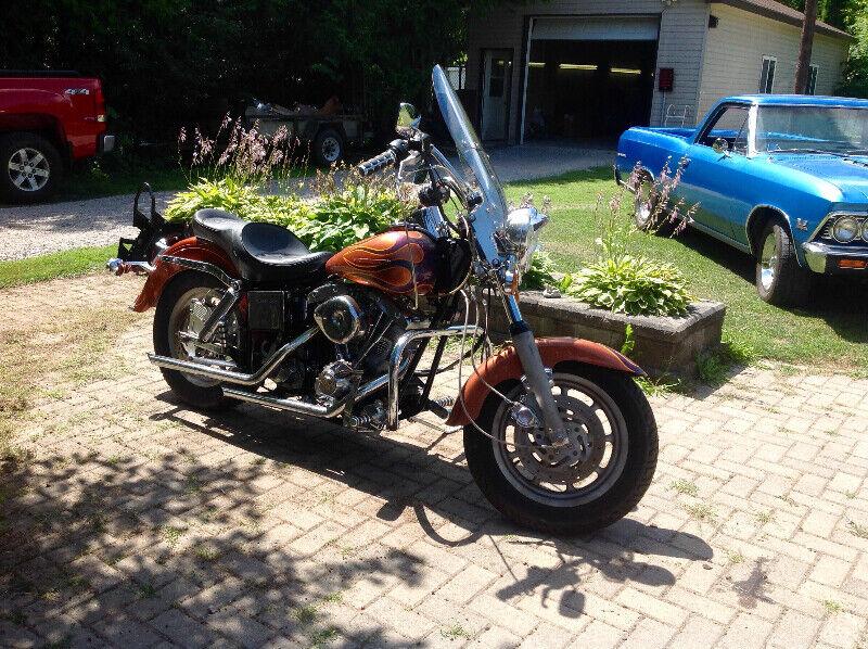 1984 Harley Custom FLH  Shovel head estate sale MUST GO!BO