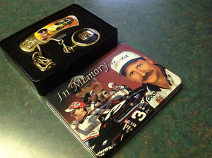 DALE EARNHARDT POCKET WATCH & POCKET KNIFE SET