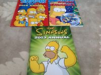 3 simpsons books