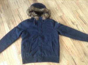 Brand New Hollister Dark Blue Men s Jacket XL 79356def7