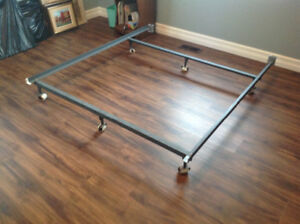 Metal Bed Frames with Wheels