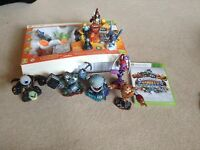Sky landers giants for X box 360 comes with 9 extra figures