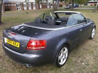 2007 Audi A4 1.8T Sport 2dr Multitronic 2 door Convertible