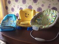 Various baby chairs