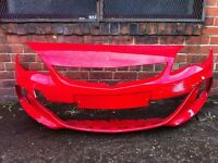 Vauxhall Astra vx line 2013 2014 2015 genuine front bumper for sale