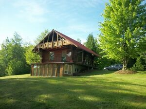 Log Cabin Rental Lac Wallace, Win a FREE STAY!!!