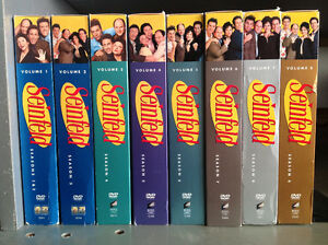 Seinfeld full DVD seasons