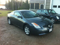 2009 Nissan Altima Coupe leather sunroof
