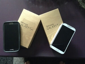 Two Samsung s4 's forsale
